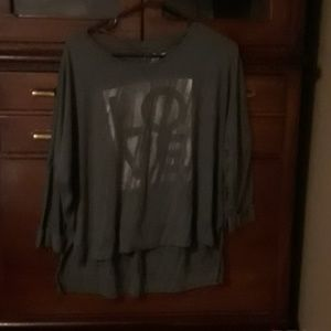 Juicy Couture 3/4 length shirt
